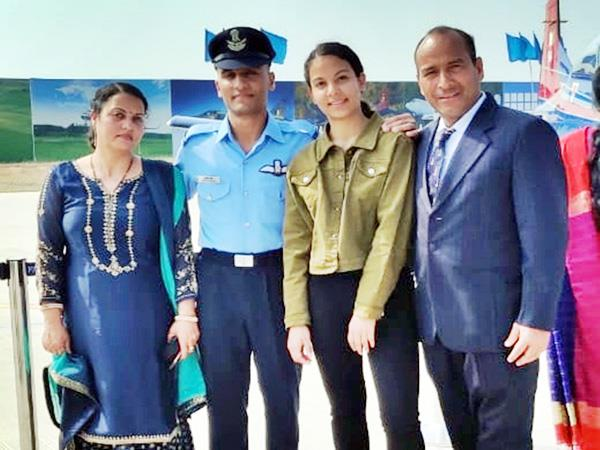 ashish sharma become flying officer in indian air force