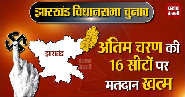 voting ends in 16 seats of the fifth phase