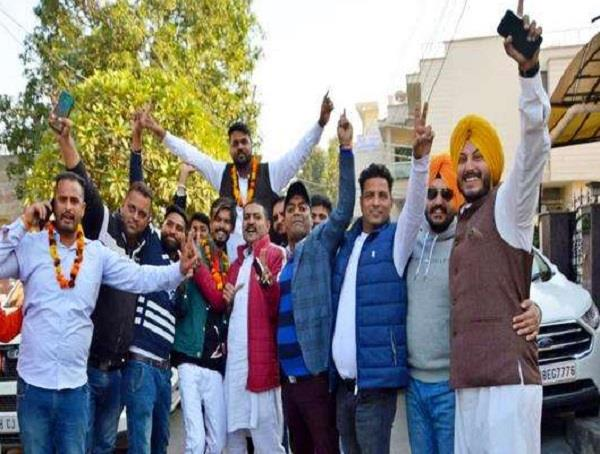 youth congress election angad dutta becomes urban unit head in jalandhar