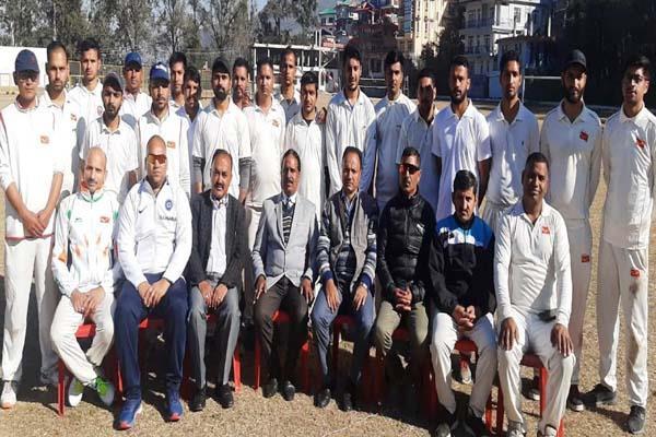 sundernagar postal circle cricket team select