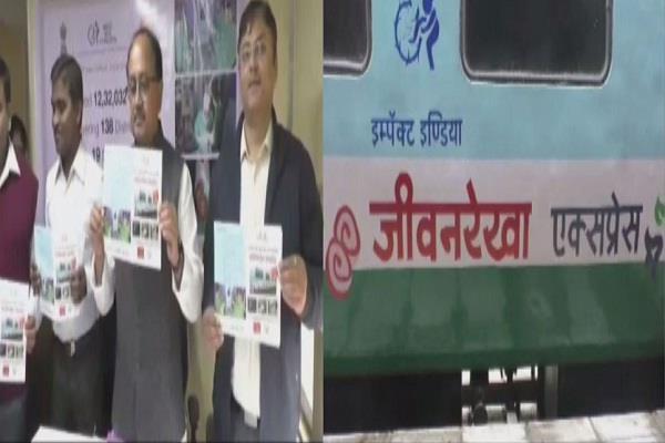 lifeline is the world s first hospital train reached prayagraj railway station