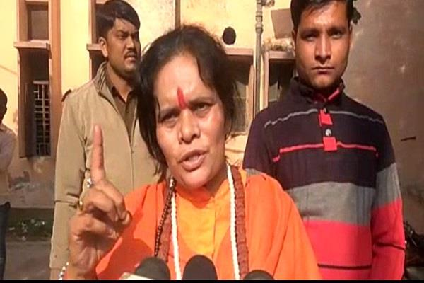 sadhvi bid on hyderabad scandal up police should also learn a lesson from this