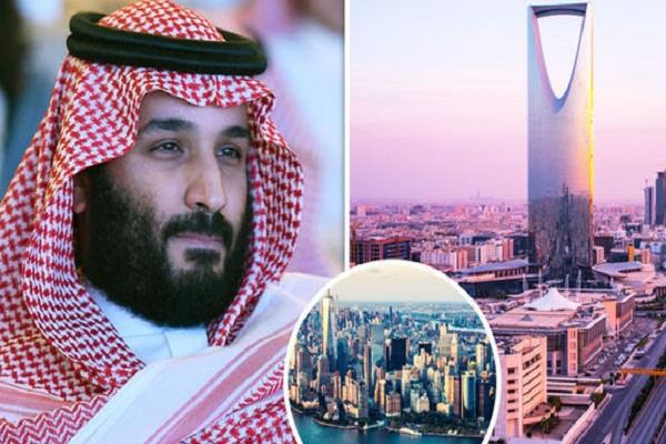 neom 33 times bigger than new york being built in saudi arabia