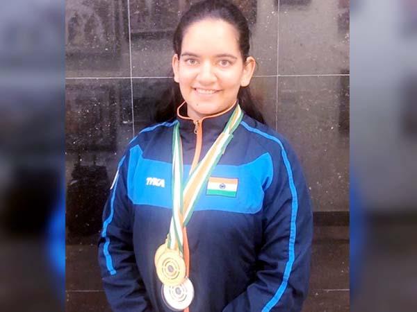 anjum modgil won 2 gold medal in national championship