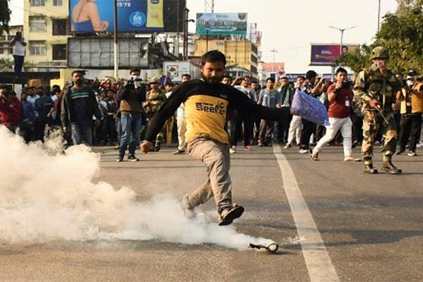 citizenship bill protesters violate curfew asu rallies