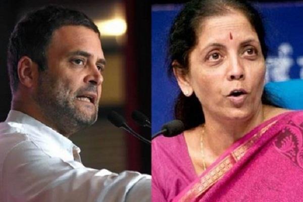 rahul gandhi taunted sitharaman s statement on onion