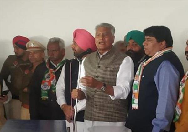 jakhar target on the central government ed bjp should not abuse