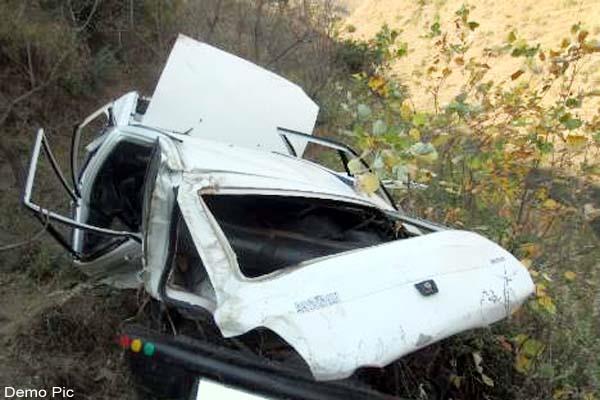 car accident in shimla