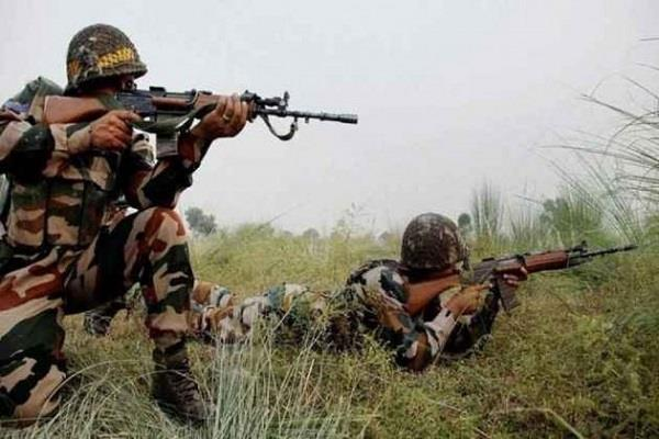 pakistani army opened fire in rajouri in jammu and kashmir 2 soldiers injured