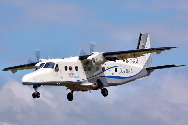 the air force chief formally inducted the dornier aircraft into the fleet