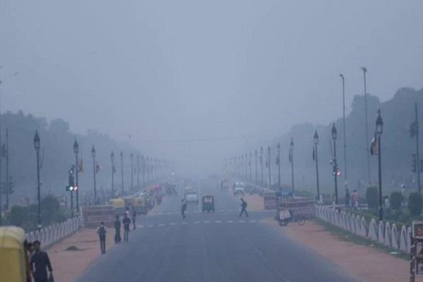 air quality in delhi ncr likely to remain in  very poor  category on monday