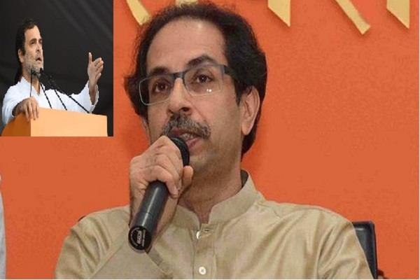 uddhav angry over rahul gandhi s statement on savarkar