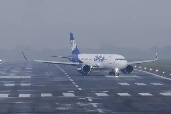 19 flights canceled due to fog in delhi route divert of 12