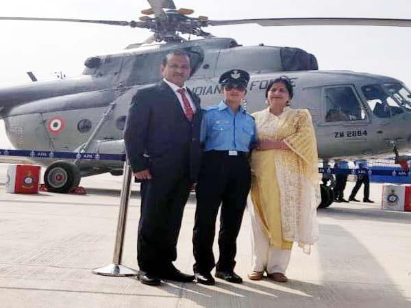 juvi katoch become pilot in indian air force