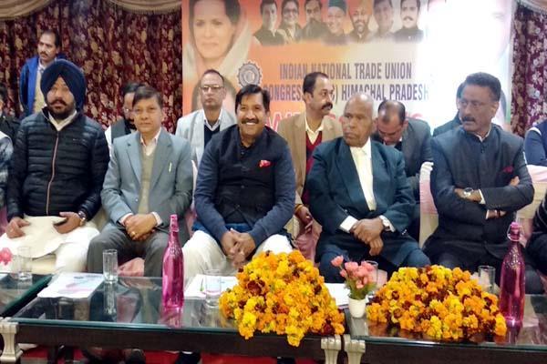 congress leader target on bjp