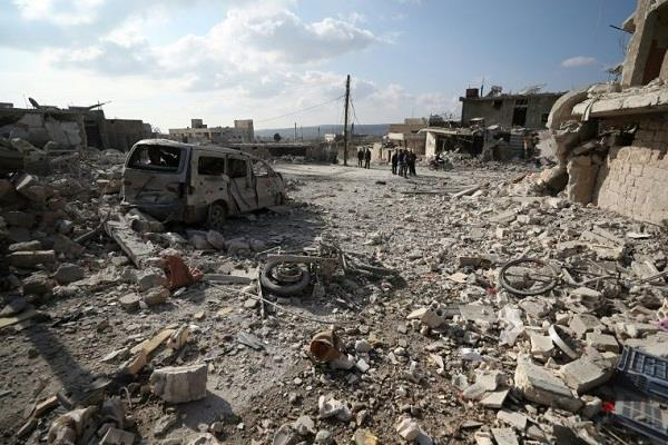19 civilians killed in airstrikes in northwest syria