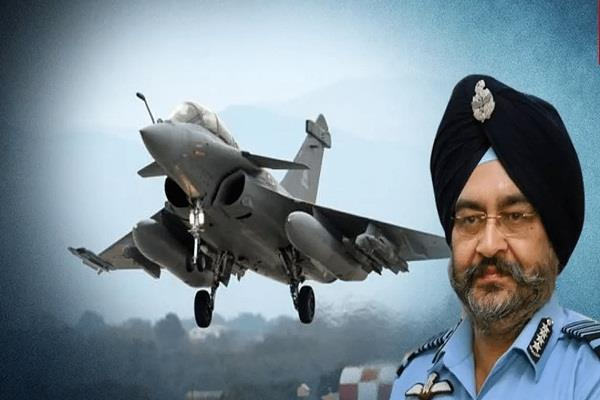 iaf honors former chief rafale must have written  b s