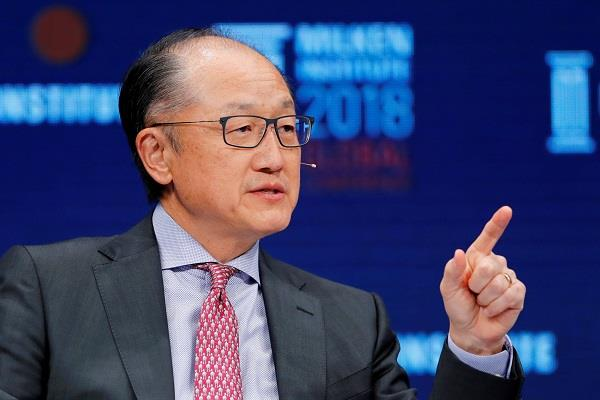 world bank chief kim will step down on february 1