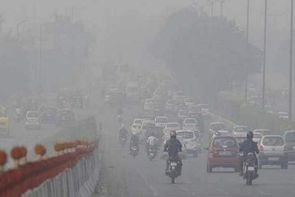 delhi s air quality came in serious category
