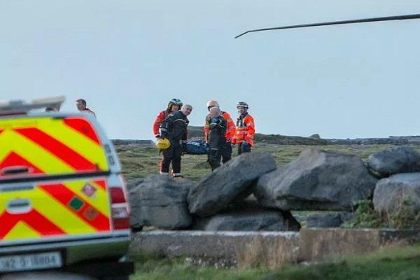 ireland indian student dies due to falling from high rock while taking selfies