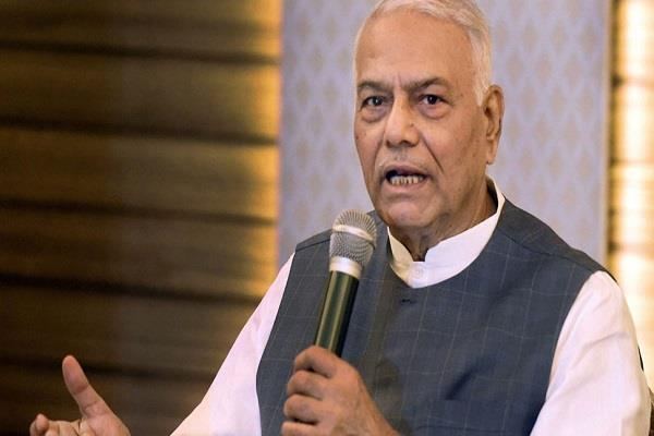 off the record yashwant sinha to contest from darjeeling