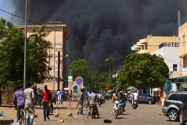 west africa 10 people killed in terrorist attack in burkina faso