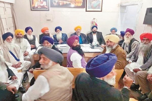 gurudwara manager committee approved to resign sent by jhinda