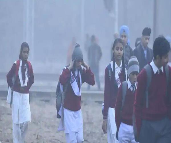 up all schools in ghaziabad district will remain closed till january 12