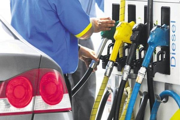 no change in prices of petrol and diesel