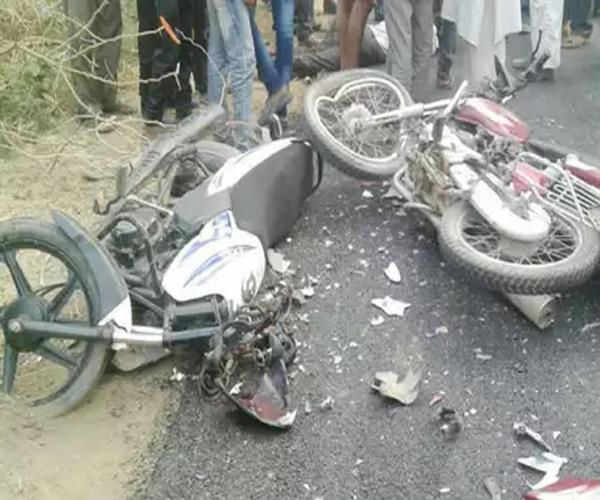 new year party created in kanpur  2 youths die in road accident
