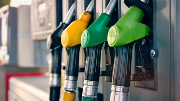 petrol diesel price fixed price not changed today