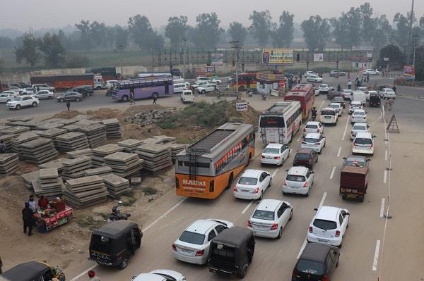 traffic problem in pap chowk