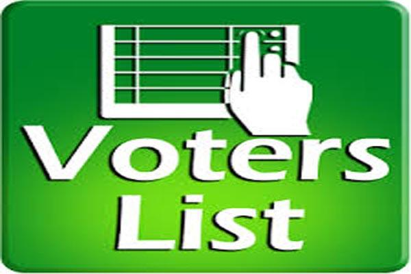 voter list publication date fixed jan 19