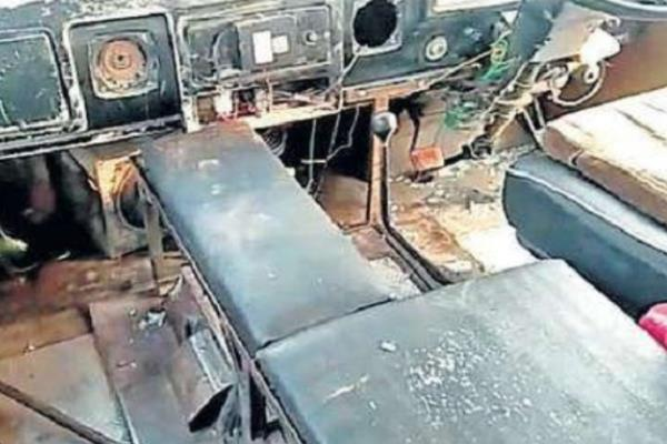 bjp councilor s husband sabotaged school bus injures