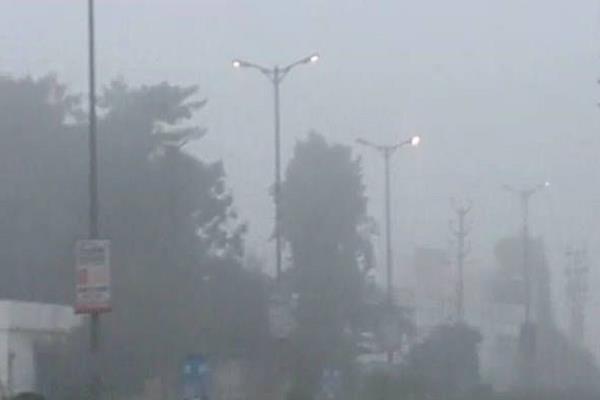 fog and freezing cold in madhya pradesh