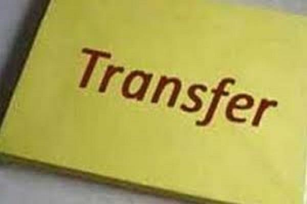 5 ias of haryana and 9 hcs officers transferred