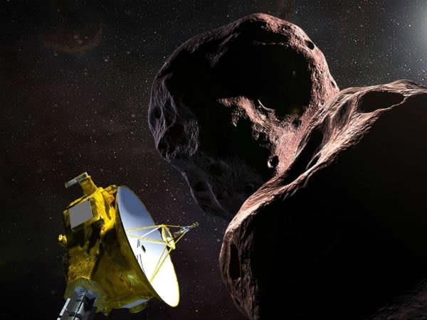 nasa provides first image from record setting flyby of ultima thule