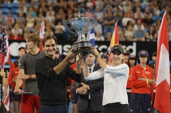 Roger Federer Win Title Tennis