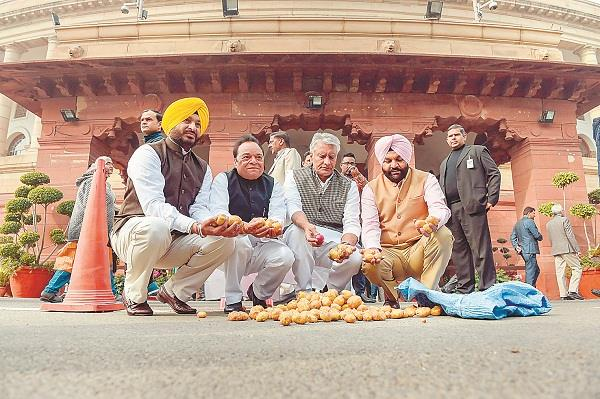 punajb mp protest in parliament