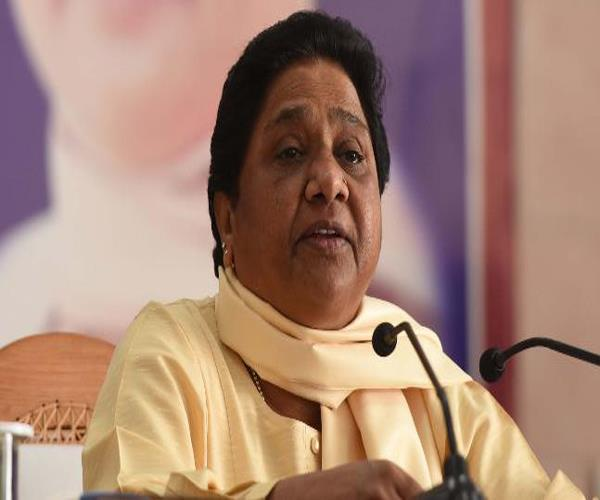 bsp will welcome central government s decision on reservation mayawati