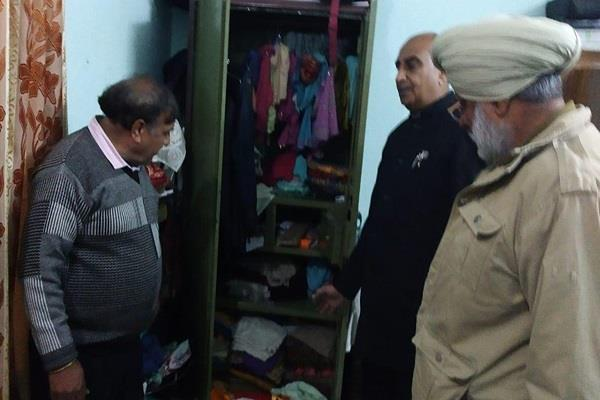 creating a house jagatpura target of thieves