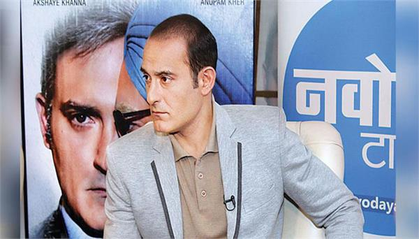 interview with the starcast of the accidental prime minister akshay khanna