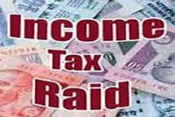 income tax department raid on the firm krishna hudda