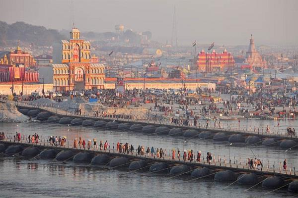 kumbh mela security increased in prayagraj