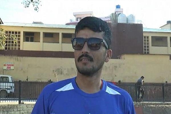 sirmaur divyang player will run in the world championship