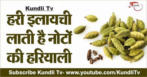 astrological importance of green cardamom