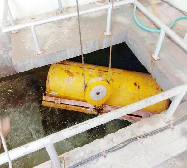 gas cylinder leak
