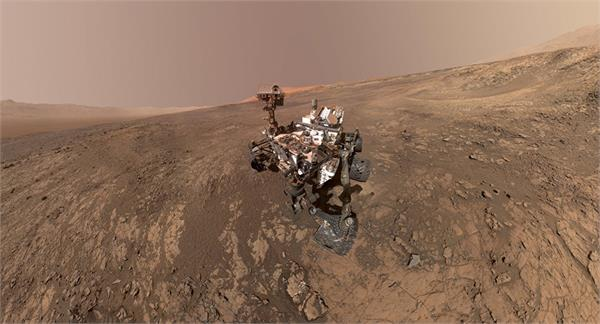 nasa s curiosity rover clicks last selfie on martian ridge