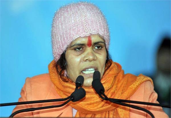 sadhvi prachi s big statement said raafel means rahul fail