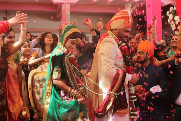 hardik patel ties the knot with his childhood friend kinjal